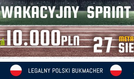 120 000 PLN do wygrania w Wakacyjnym Sprincie forBET