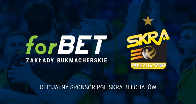 ForBET został sponsorem PGE Skry Bełchatów!