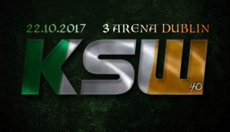 KSW 40: znamy datę i pierwszą walkę!
