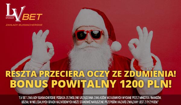 Specjalny Bonus 1200 PLN od LV BET!
