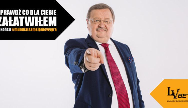 """Zdzisław Kręcina ambasadorem LV BET – """"Mundial sam się nie wygra"""""""